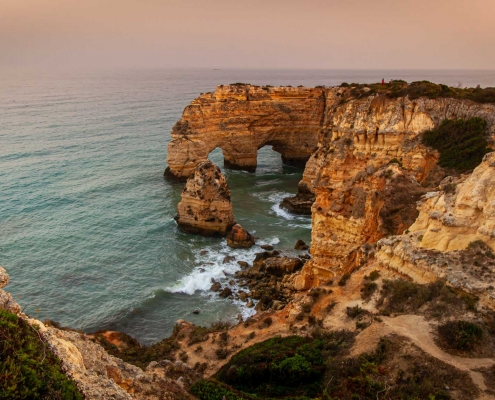 Marinha Beach - end of Seven Valleys Trail