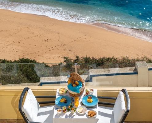 Daily balcony Breakfast