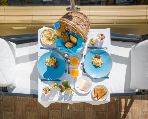 Castelo Guest House Breakfast