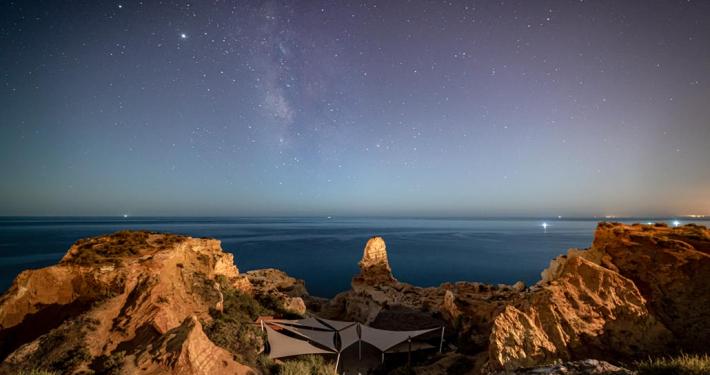 Algar Seco at Night